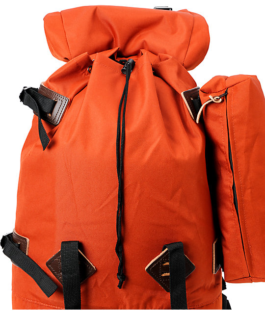 Poler Rucksack Orange Backpack