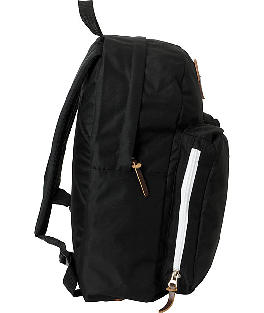 Poler Stuff The Day Pack Black Laptop Backpack