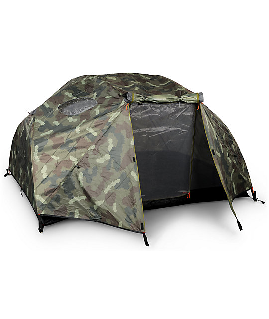 Poler Two Man Green Camo Tent ...  sc 1 st  Zumiez & Poler Two Man Green Camo Tent | Zumiez