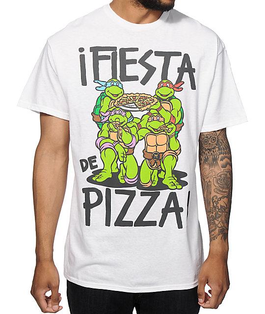 e82d1b24b Pop Culture Pizza Party Ninja Turtles T-Shirt   Zumiez