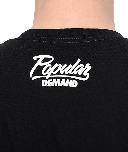 Popular Demand Censored Black T-Shirt