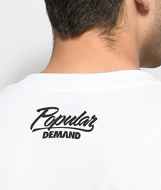 Popular Demand Ice Cream camiseta blanca