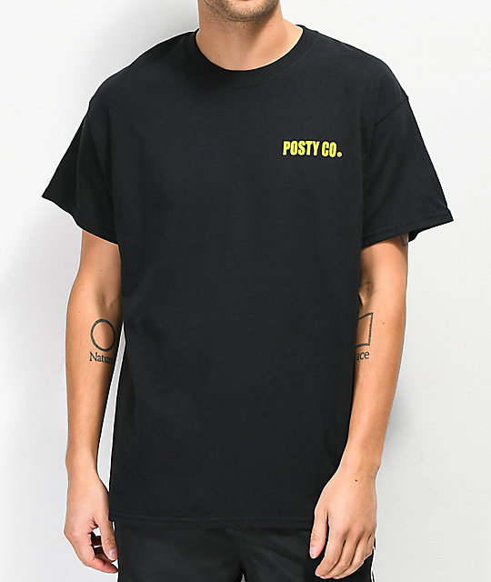Post Malone Blade Slice Black T-Shirt