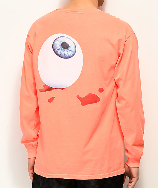 Post Malone Candy Paint Orange Long Sleeve T-Shirt