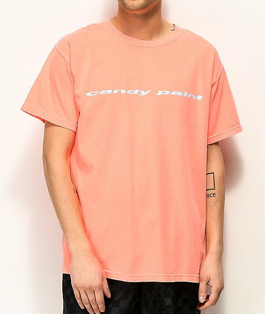 Post Malone Candy Paint Orange T-Shirt