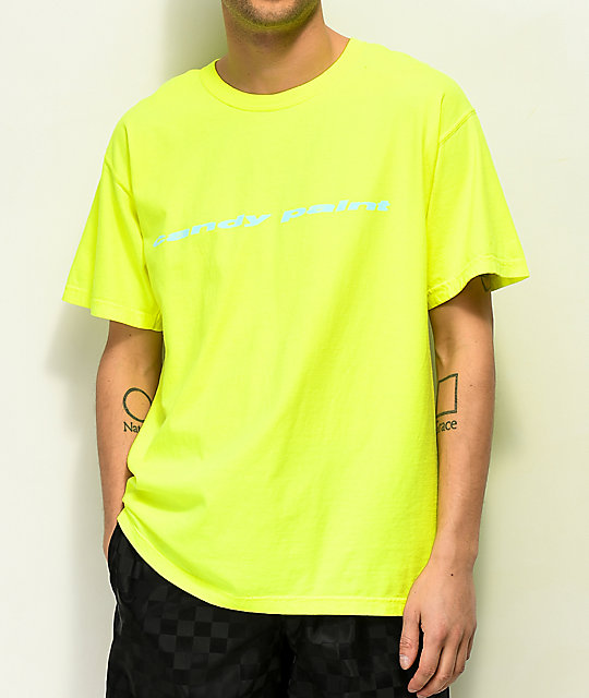 Post Malone Candy Paint Yellow T-Shirt