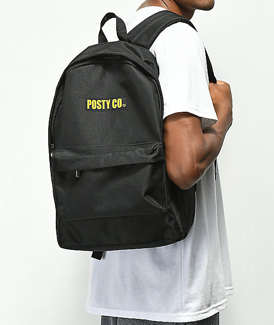 Post Malone Posty Co. Black Backpack