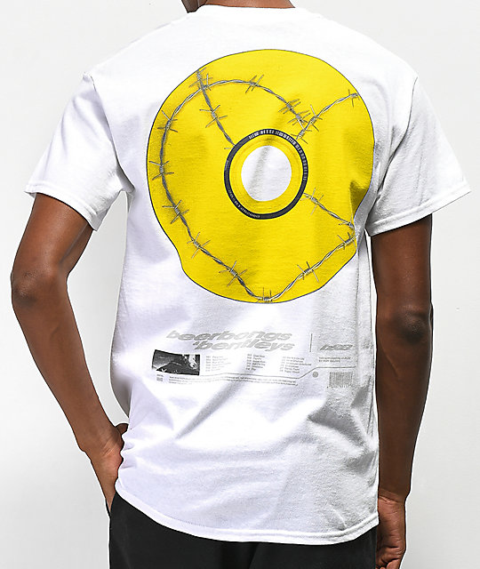 Post Malone Posty Co. CD Image White T-Shirt