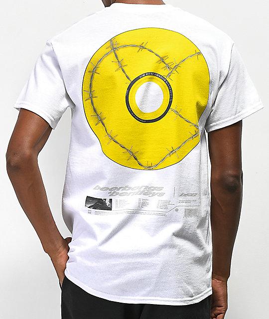 Post Malone Posty Co  CD Image White T-Shirt