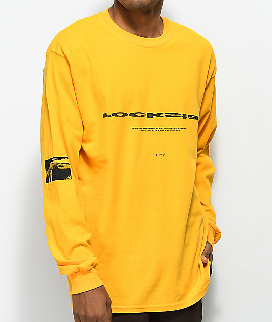 Post Malone Rockstar Yellow Long Sleeve T Shirt Zumiez