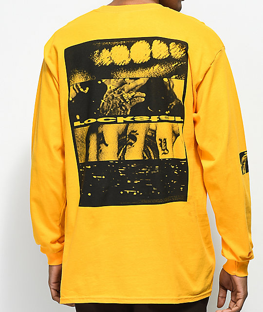 Post Malone Rockstar Yellow Long Sleeve T-Shirt  a55d50e11