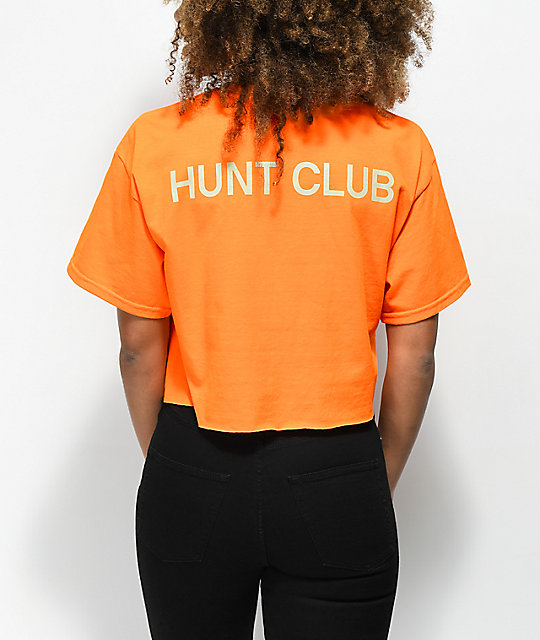 Post Malone Stoney Buck Hunt Club Orange Crop T-Shirt