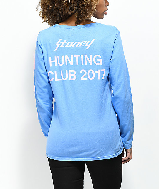 Post Malone Stoney Hunt Club Lilac & Purple Long Sleeve T-Shirt ...