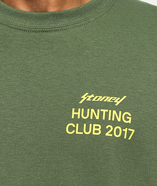 Post Malone Stoney Hunt Club Target Green T-Shirt