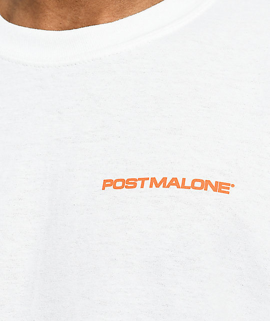 Post Malone Stoney Hunting Club camiseta blanca de manga larga