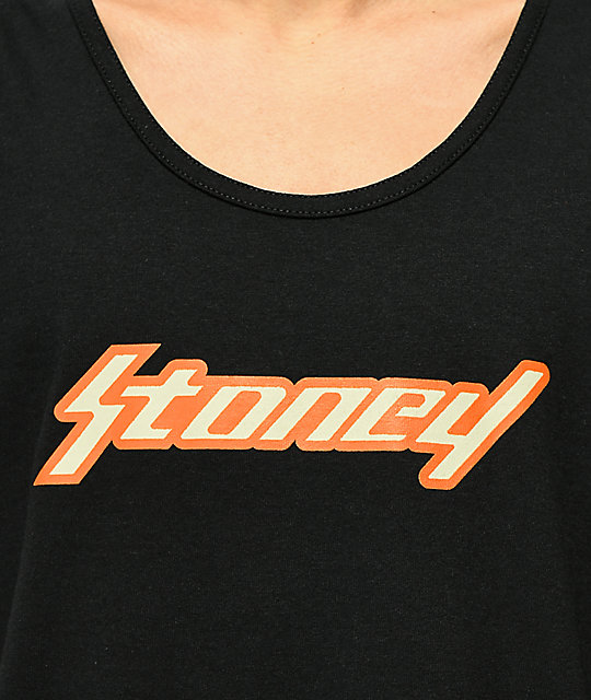 Post Malone Stoney camiseta negra sin mangas