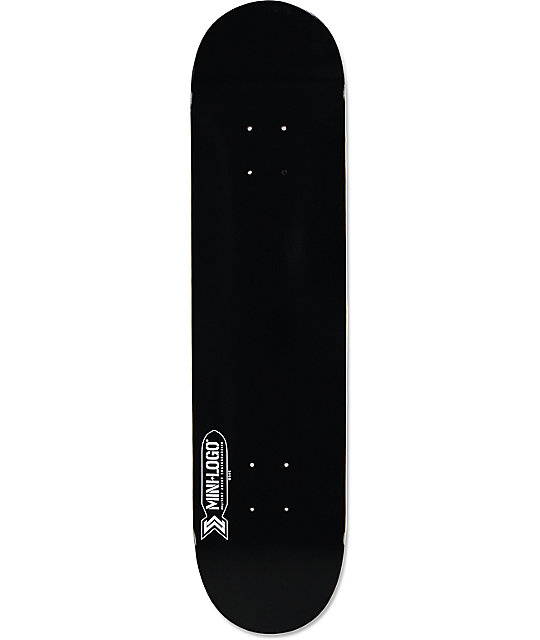 Powell Mini Logo Black 75 Skateboard Deck Zumiez