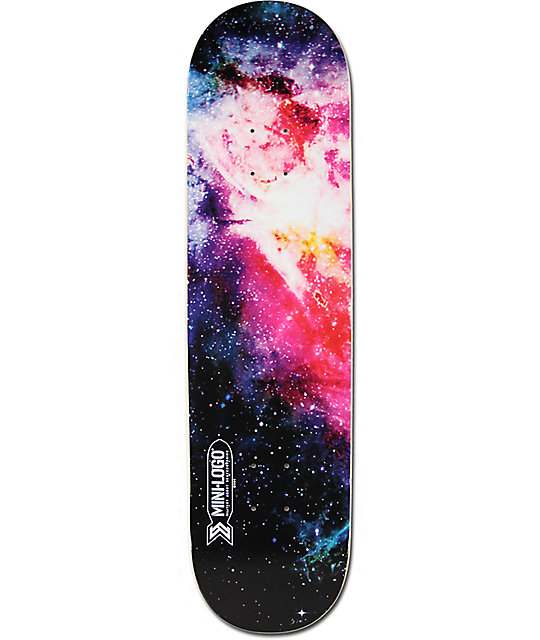 Powell Mini Logo Cosmic 825 Skateboard Deck Zumiez