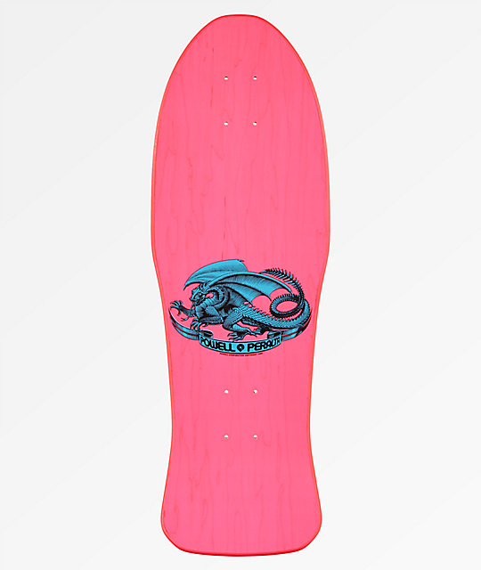 "Powell Peralta Caballero Chinese Dragon 10"" Re-Issued Pink Skateboard Deck"