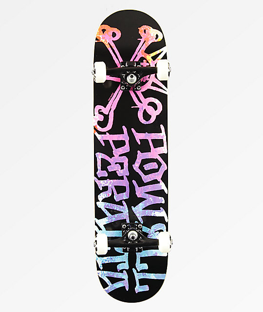 Powell Vato Rat Paint Pink & Blue 8.0