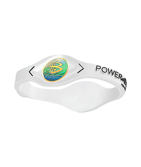 Power Balance White Hologram Bracelet