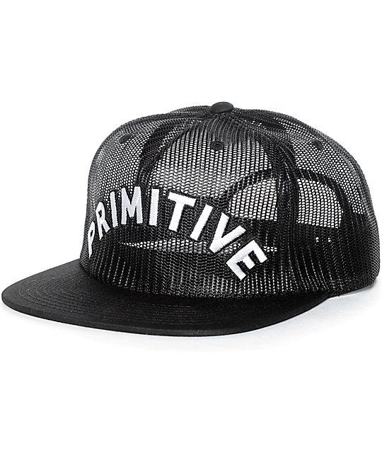 Primitive Arch Mesh Black Snapback Hat  562565dcb7d