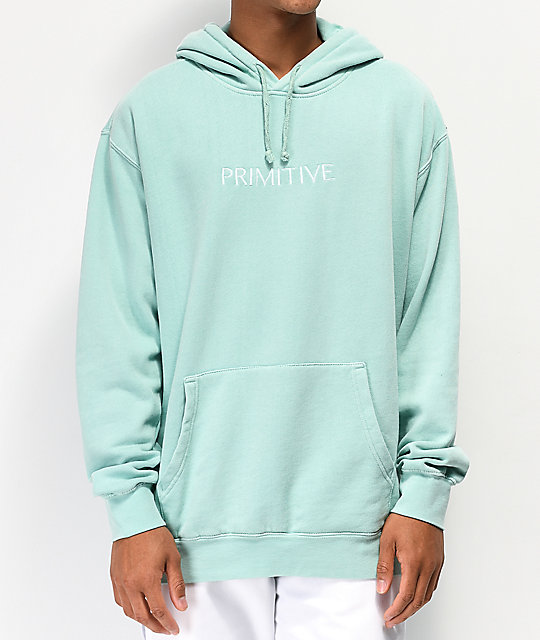 Primitive Atmosphere Mint Green Hoodie