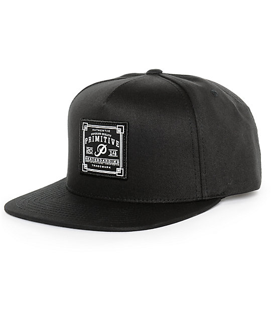 Primitive Authentic Skate Patch Snapback Hat