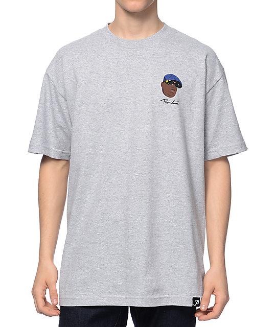 6655bc9468ed8 Primitive Biggie Shades Heather Grey T-Shirt