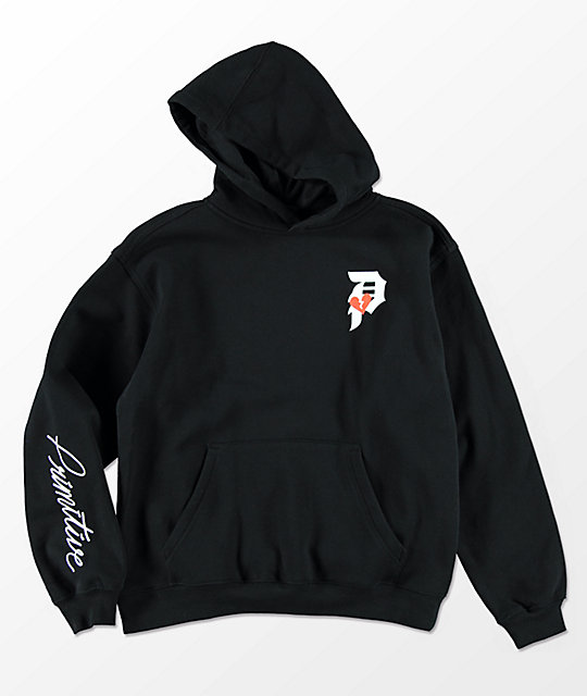 Primitive Boys Heartbreaker Black Hoodie