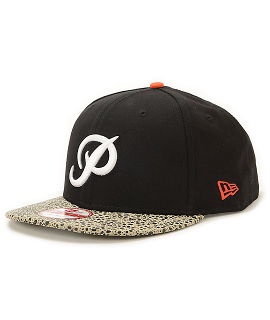 quality design c720c ab1d8 ... promo code for primitive classic p safari black new era snapback hat  86185 8fc6c