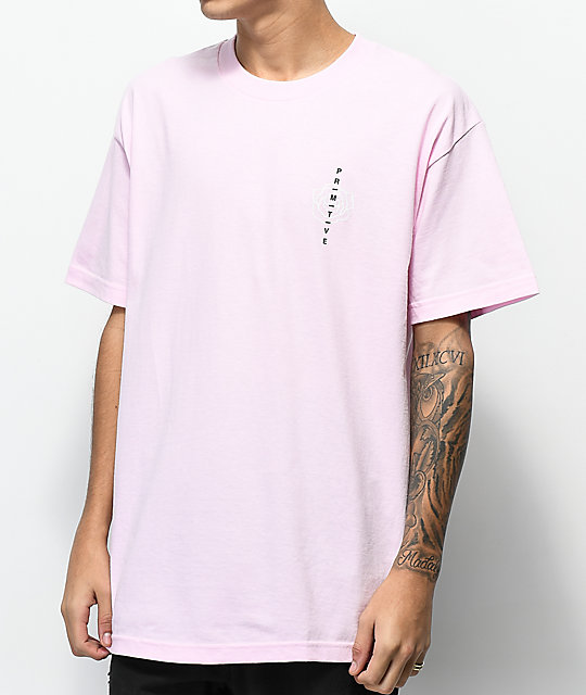 Primitive Club camiseta rosa