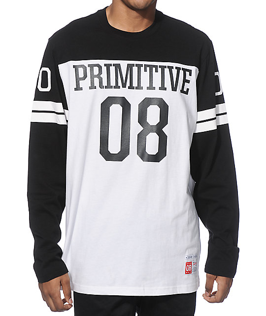 Primitive Colosseum camiseta manga larga de fútbol americano ... 532a429db47