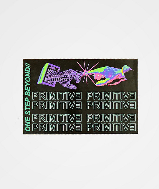 Primitive Contact Sticker