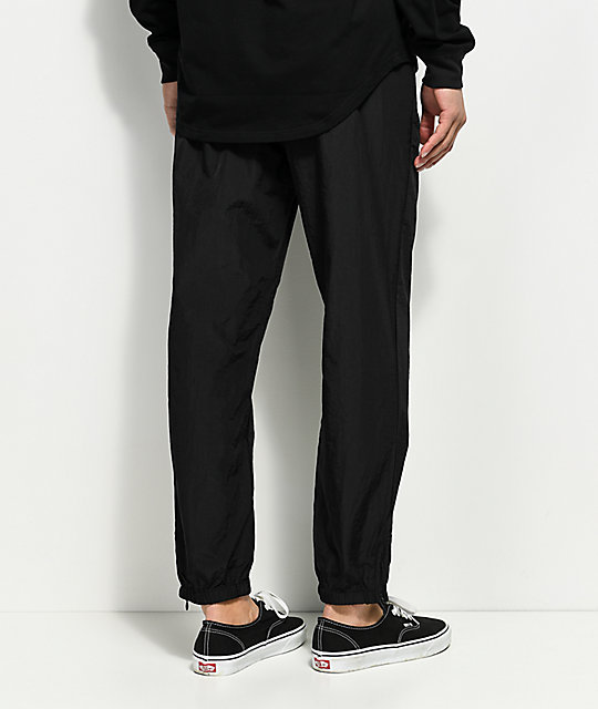 Primitive Creped Black Warm Up Pants