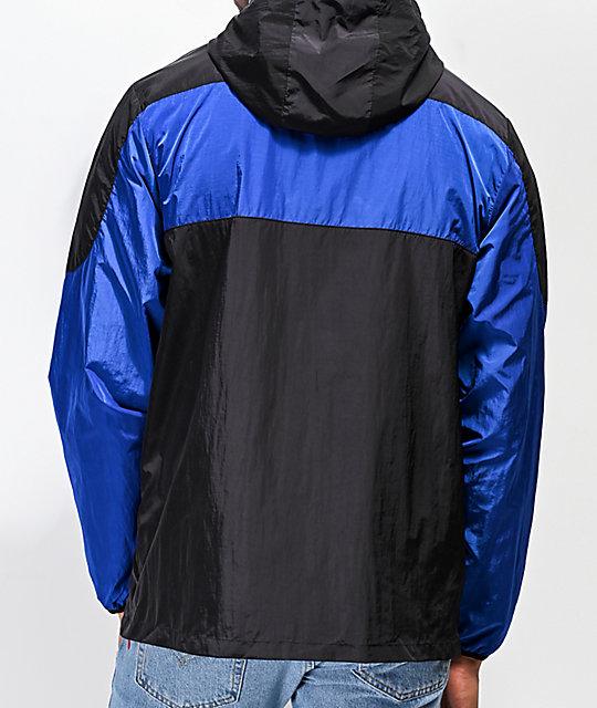 d4707a45cdfe7a ... Primitive Croydon Blue   Black Anorak Jacket ...