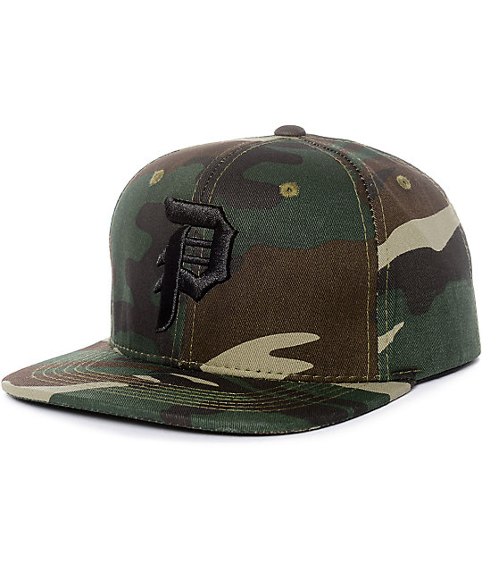 be476e2047707 Primitive Dirty P Camo Snapback Hat
