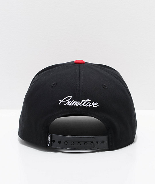 Primitive Dirty P Crush Black Snapback Hat