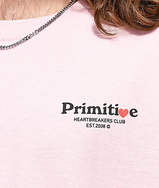 Primitive Dirty P Cupid Pink T-Shirt