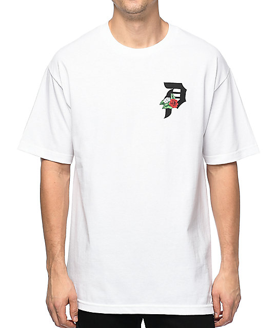 Primitive Dirty P Dos Flores White T-Shirt