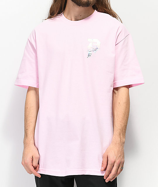Primitive Dirty P Holographic camiseta rosa
