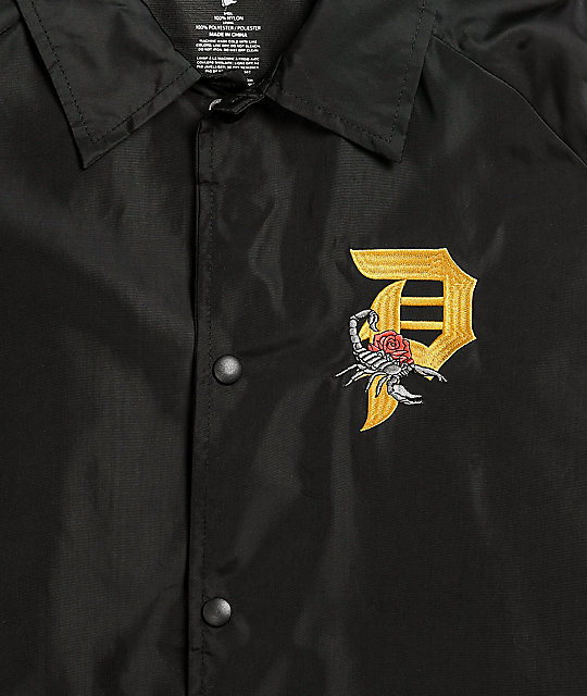 Primitive Dirty P Scorpion Black Coaches Jacket