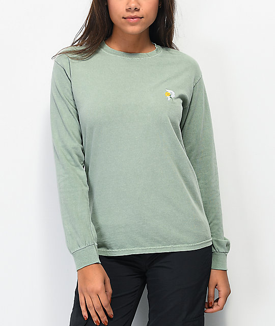 Primitive Dirty P Sunflower Spruce Long Sleeve T-Shirt
