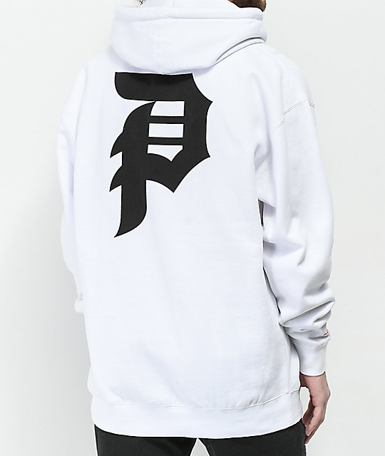 Primitive Dirty P White Hoodie