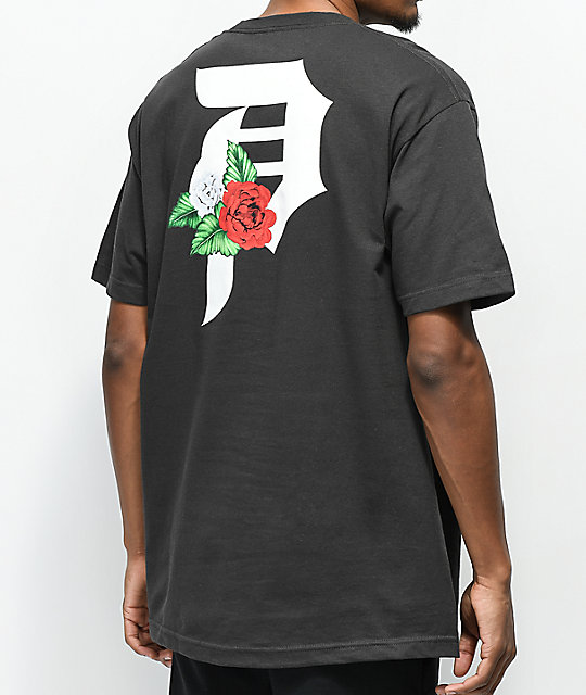 Primitive Dos Flores Black T-Shirt