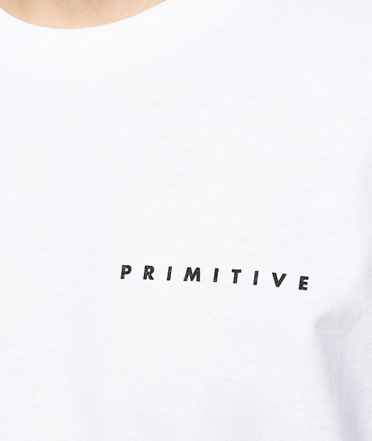 Primitive Elevate camiseta blanca