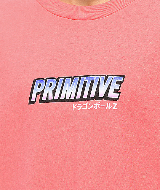 Primitive Frieza Mecha Coral T-Shirt