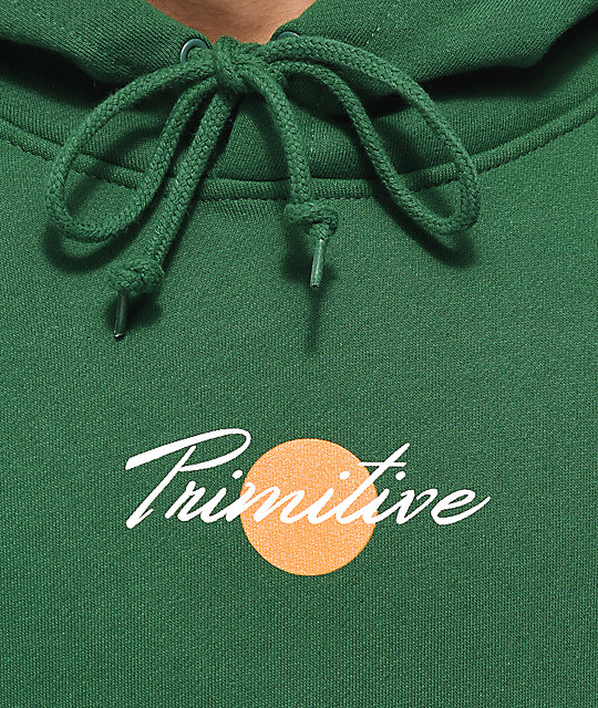 Primitive Ginza Green Hoodie