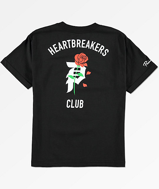 Primitive Heartbreak camiseta negra para niños