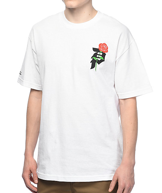 Primitive Heartbreakers Co White T-Shirt